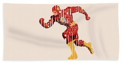 The Flash Beach Towel