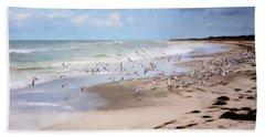 The Flock Beach Towel