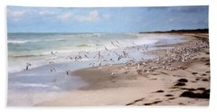 The Flock Beach Towel
