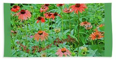The Flower Garden Beach Towel