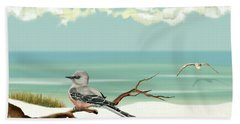 The Flycatcher Beach Towel