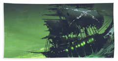 The Flying Dutchman Beach Towel