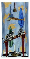 The Flying Frog Beach Towel