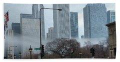 The Fog Lifts On Michigan Avenue Beach Sheet