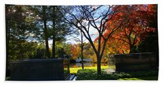 The Fords - Woodlawn Cemetery Beach Towel