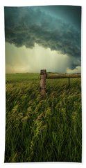 Beach Towel featuring the photograph The Frayed Ends Of Sanity  by Aaron J Groen