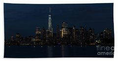 The Freedom Tower Beach Towel by Nicki McManus