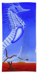 The Game Beach Towel