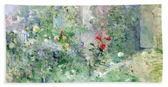 The Garden At Bougival Beach Towel