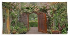 The Garden Door Beach Sheet