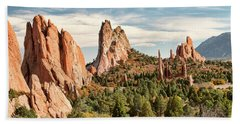 The Garden Of The Gods - Colorado Beach Towel