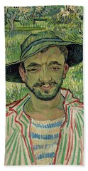 The Gardener, Young Peasant Beach Towel