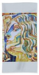The Gaze - Inspired By Tullio Lombardo, 1460-1532 Beach Towel