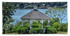 Beach Towel featuring the photograph The Gazebo by Tom Prendergast