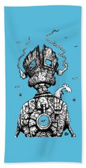 The Ghost In The Machine Beach Towel