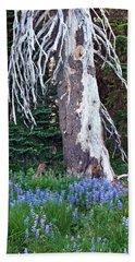 The Ghost Tree Beach Towel