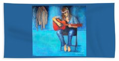 Music In The Alhambra Beach Towel