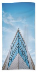 The Glass Tower On Downer Avenue Beach Towel