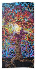The Glow Of Love Beach Towel