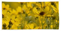 The Gold Of Almost Autumn #1 Beach Towel