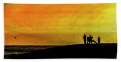 The Golden Hour II Beach Towel