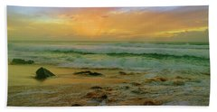 Beach Sheet featuring the photograph The Golden Moments On Molokai by Tara Turner