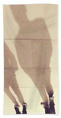 The Golden Path - Shadows Beach Towel