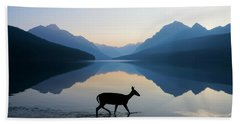 The Grace Of Wild Things Beach Towel by Dustin  LeFevre