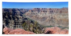 The Grand Canyon Panorama Beach Towel