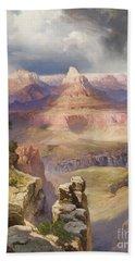 The Grand Canyon Beach Sheet by Thomas Moran