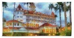 The Grand Floridian Resort Wdw 01 Photo Art Mp Beach Towel