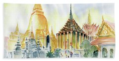 The Grand Palace Bangkok Beach Towel