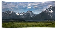 The Grand Tetons Beach Towel