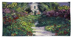 The Grande Allee Giverny Beach Towel