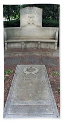 The Grave Of John Philip Sousa -- America's March King Beach Towel