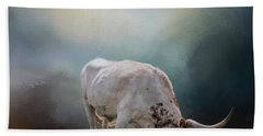The Grazing Texas Longhorn Beach Sheet