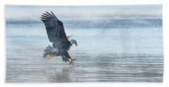 The Great American Bald Eagle 2016-15 Beach Towel