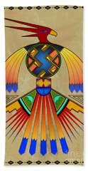 The Great Bird Spirit Beach Towel