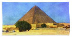 The Great Pyramid Beach Towel