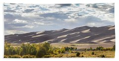 The Great Sand Dunes Triptych - Part 1 Beach Towel by Tim Stanley