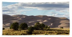The Great Sand Dunes Triptych - Part 2 Beach Sheet by Tim Stanley