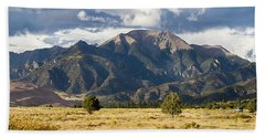 The Great Sand Dunes Triptych - Part 3 Beach Towel by Tim Stanley