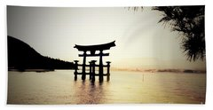 The Great Torii  Beach Towel