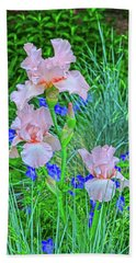 The Greek Goddess Persephone Is The Harbinger Of Spring.  Beach Towel by Bijan Pirnia