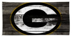 The Green Bay Packers 3b    Beach Towel by Brian Reaves