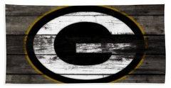 The Green Bay Packers 3b    Beach Towel