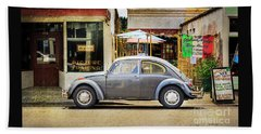 The Grey Beetle Beach Towel by Craig J Satterlee