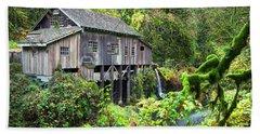 The Grist Mill, Amboy Washington Beach Towel