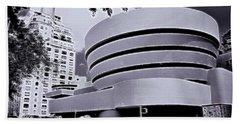 The Guggenheim Black And White Beach Sheet