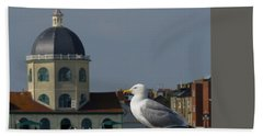 The Gull And The Dome 2 Beach Towel
